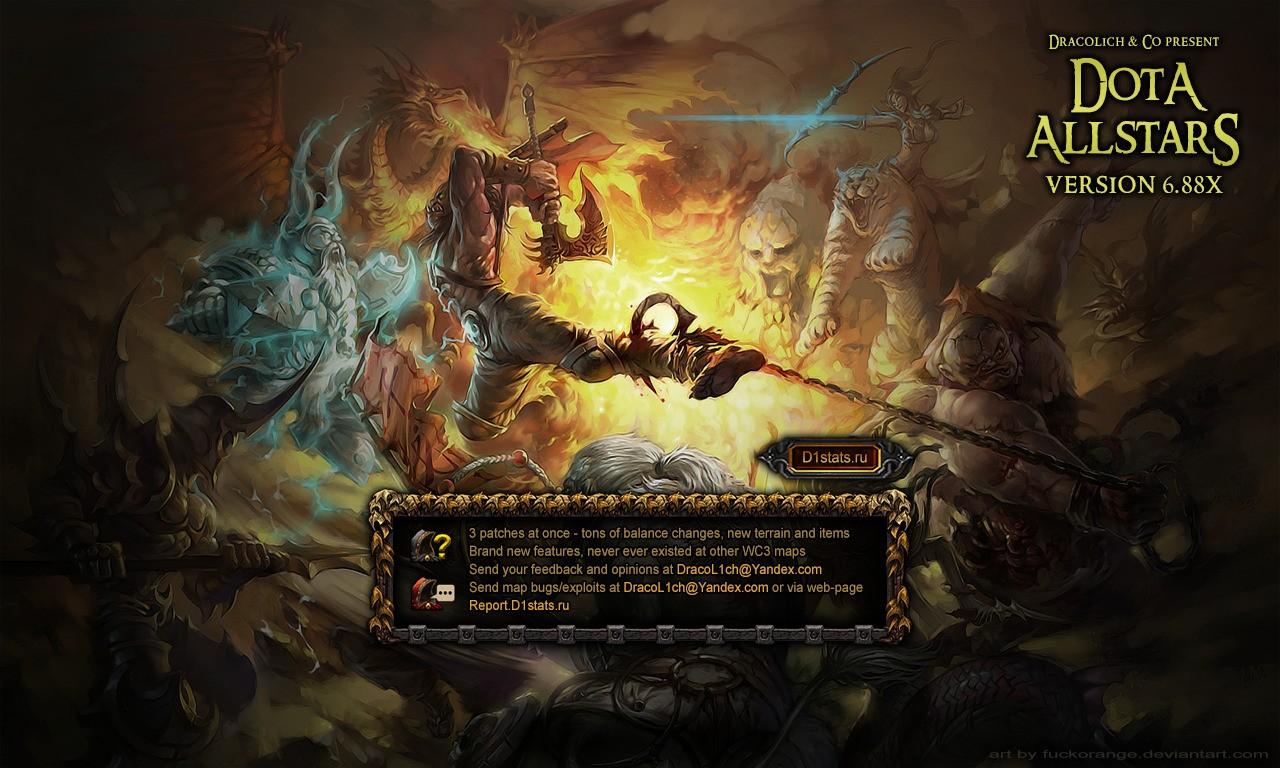 Download Map Dota Allstars Hero Defense Survival 292