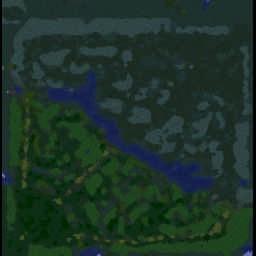 DotA v6.89a2 LoD - Warcraft 3: Mini map