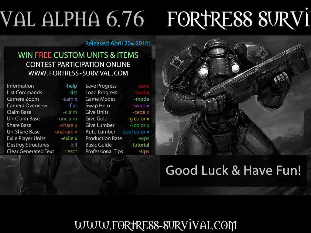 Fortress Survival Alpha 6.77 B70P - Warcraft 3: Custom Map avatar
