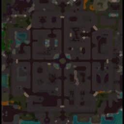 Fortress Survival Alpha 6.77 B70P - Warcraft 3: Mini map