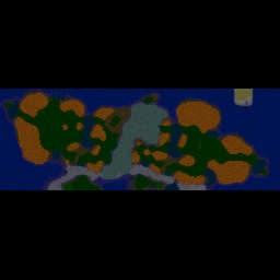 Kirby Wars Reborn 1.45 - Warcraft 3: Mini map
