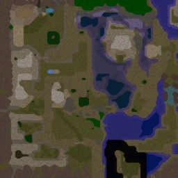 Left 4 Dead Storm island - Warcraft 3: Mini map