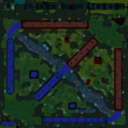 LoK II v8.2b AI - Warcraft 3: Mini map
