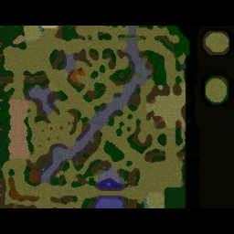 Naruto: 3rd Shinobi Wars 2.41b - Warcraft 3: Mini map