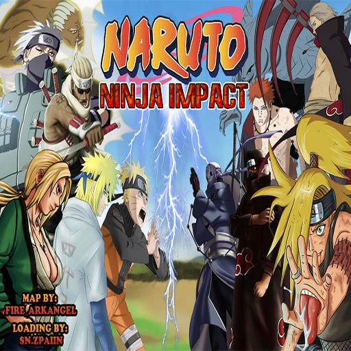 Download map Naruto Ninja Impact - Hero Defense & Survival | 12