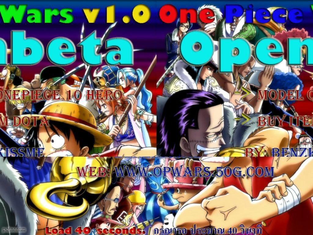 Download Map One Piece Wars Hero Defense Survival 2
