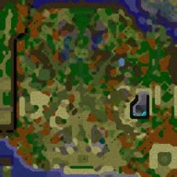 Panda Fight v3.36 RUS.w3x - Warcraft 3: Mini map