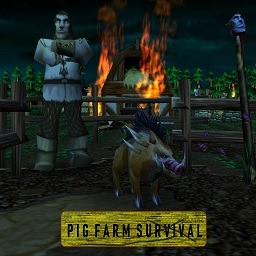 Pig Farm Survival b14o - Warcraft 3: Mini map