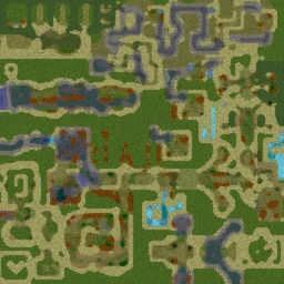 Создай Героя v 5.10(a)  Create Hero - Warcraft 3: Mini map