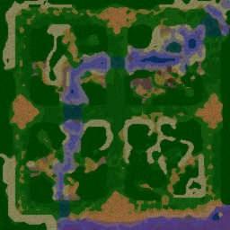 Survival Chaos 3.5 - Warcraft 3: Mini map