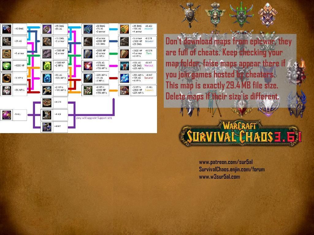 Survival Chaos 3.61 - Warcraft 3: Custom Map avatar