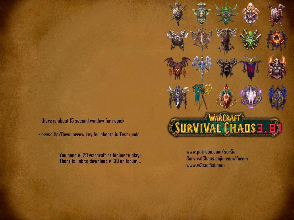 Survival Chaos 3.81 - Warcraft 3: Custom Map avatar