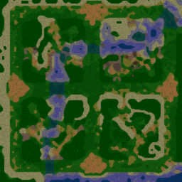 Survival ChaOZ v1.33 - Warcraft 3: Mini map