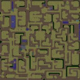 Vampirism Survival v3.9 - Warcraft 3: Mini map