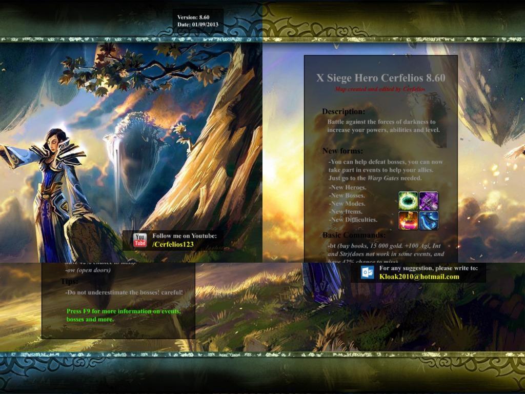 X Hero Siege Cerfelios 9.1a - Warcraft 3: Custom Map avatar