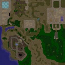 Zombie Hunter FE - Warcraft 3: Mini map