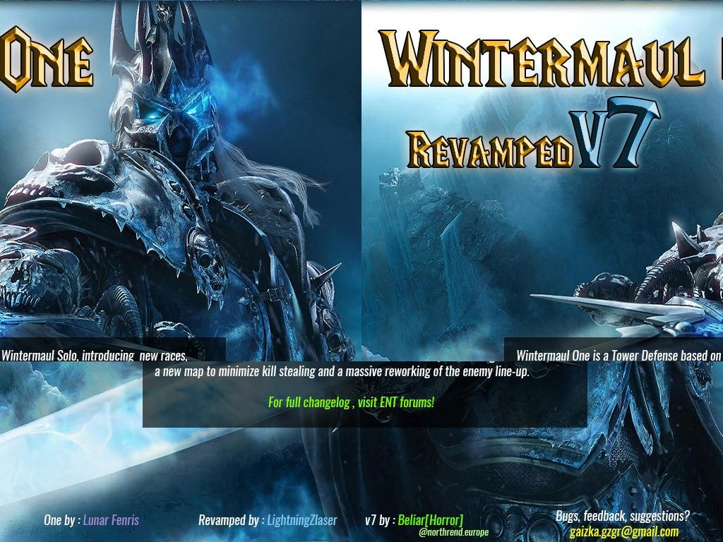 Wintermaul One Revamped v7.4 - Warcraft 3: Custom Map avatar
