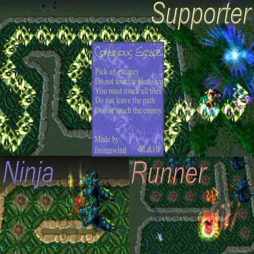 Continious escape v2.3 - Warcraft 3: Custom Map avatar