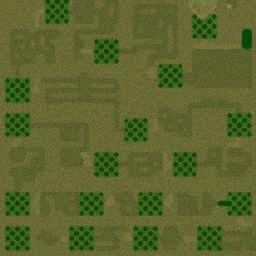 Continious escape v2.3 - Warcraft 3: Mini map