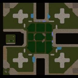 Footman Frenzy LVL10000 v5.0 Liver - Warcraft 3: Mini map