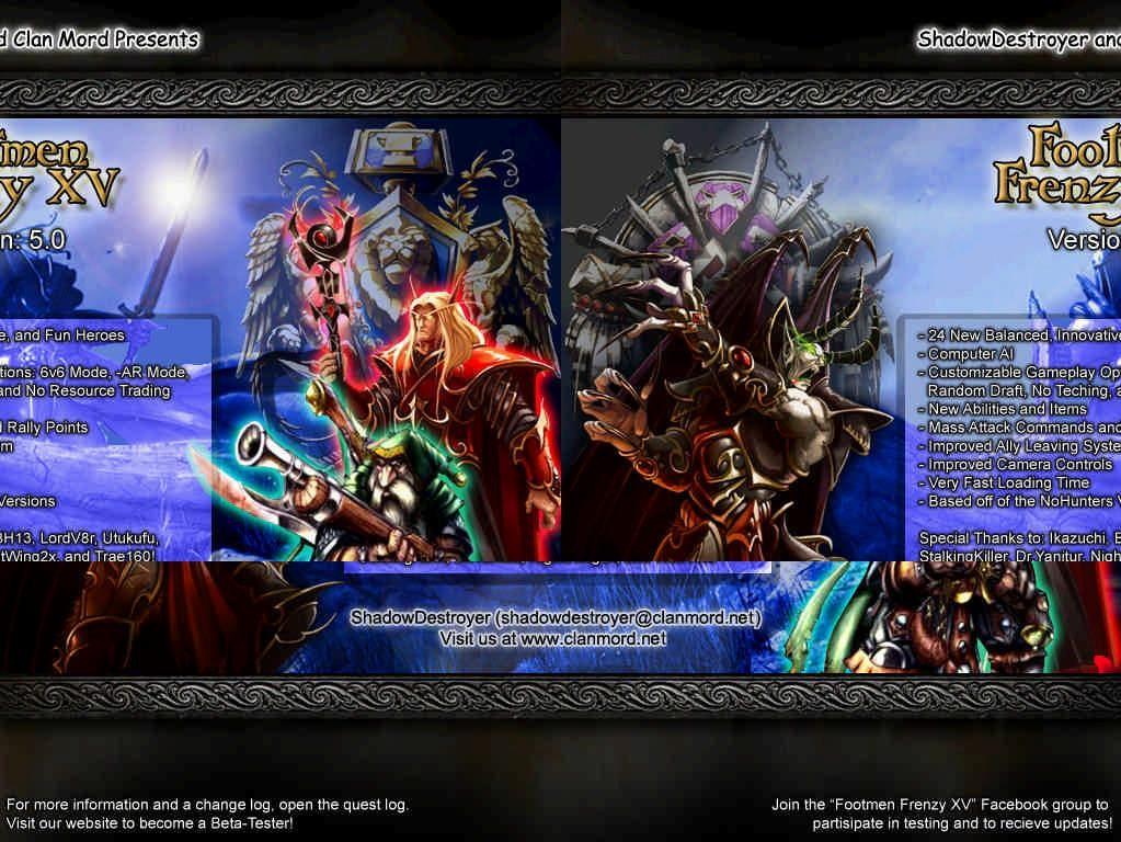Footmen Frenzy XV 5.0r - Warcraft 3: Custom Map avatar
