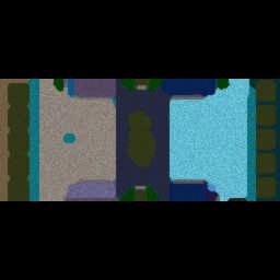 Footmen vs Grunts Pro 4.8 B - Warcraft 3: Mini map