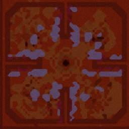 Hero Frenzy v0.771A - Warcraft 3: Mini map