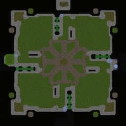 WoW Footmen v1.25 - Warcraft 3: Mini map
