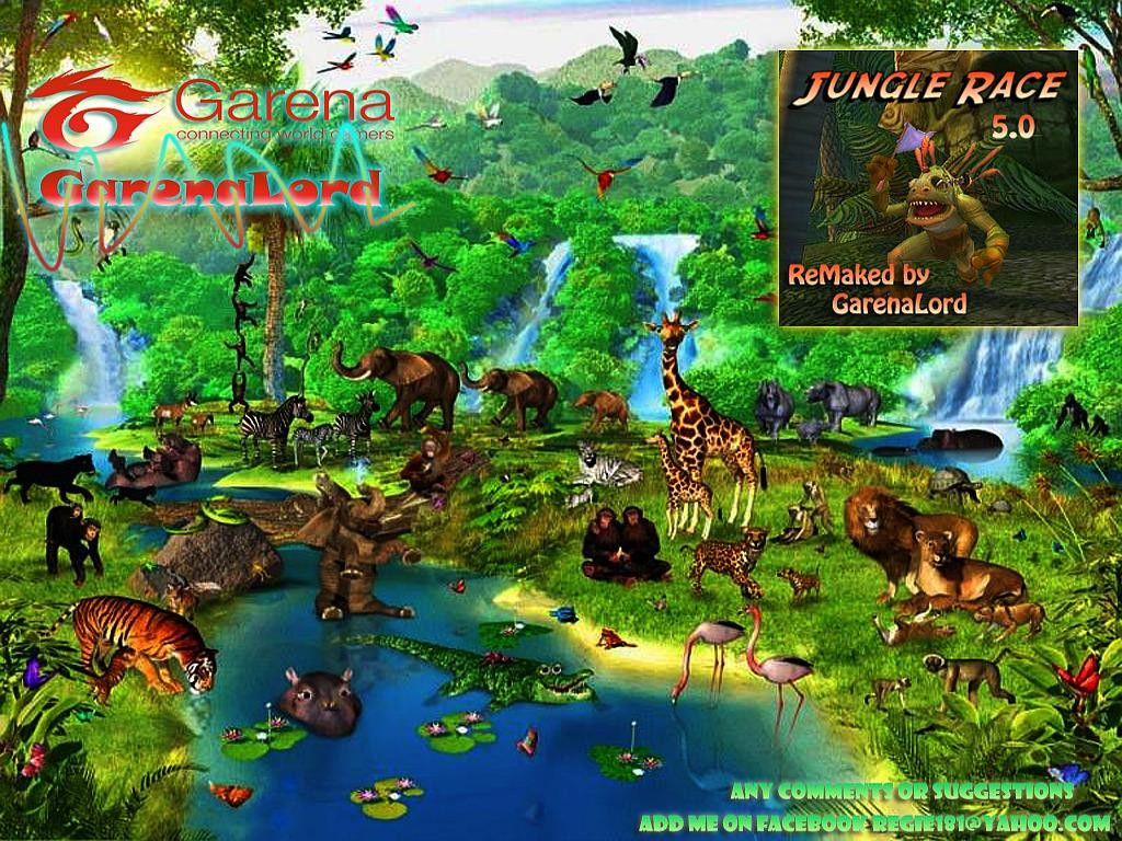 Download map Jungle Race - Mini-Games | 23 different