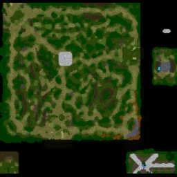 Anime Character v.test - Warcraft 3: Mini map
