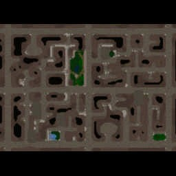 Blackula Rising 1.08 - Warcraft 3: Mini map