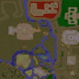 Blood Apocalipse Zombies! v2.10 - Warcraft 3: Mini map