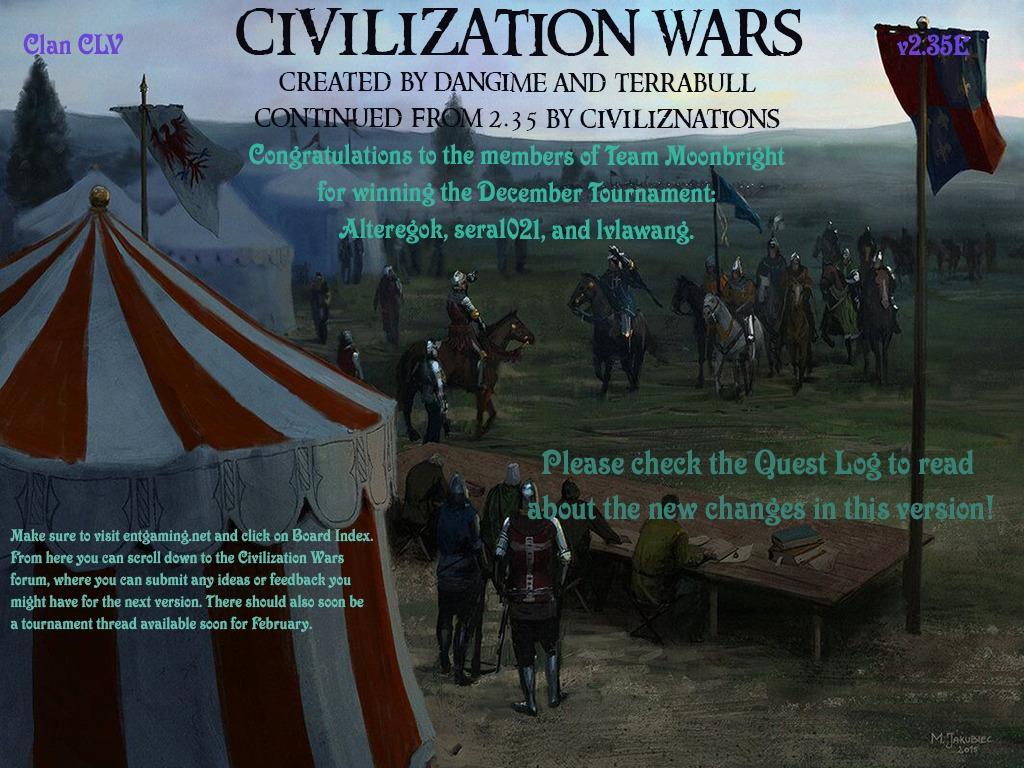 Civ Wars v3.7.2 - Warcraft 3: Custom Map avatar