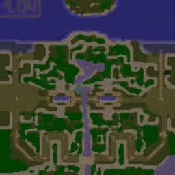 Civilization Wars v3.01d - Warcraft 3: Mini map