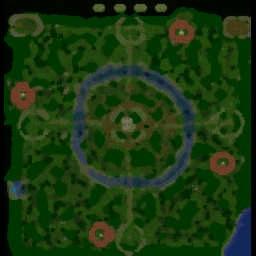 CoP Custom v1.1ar - Warcraft 3: Mini map