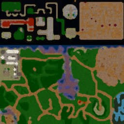 DBZ 2 - Warcraft 3: Mini map