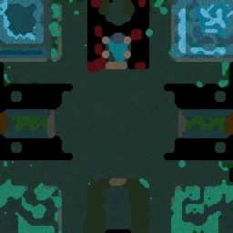 Defensa de los Muertos 2.1 - Warcraft 3: Mini map