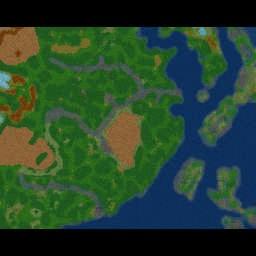 ErasZombieInvasion Asia v1.07 - Warcraft 3: Mini map