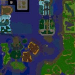 Fallen Scrolls v1.14b - Warcraft 3: Mini map