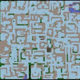 """Lipo""вая ""Gluk""омания 13 - Warcraft 3: Mini map"