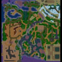 Pokemon Electro 1.8 [OPT] - Warcraft 3: Mini map