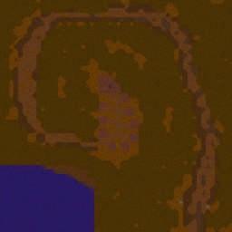 Пролог - Совет Вождей - Warcraft 3: Mini map