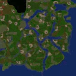 Romance of the Three Kingdom - Warcraft 3: Mini map