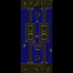 SH v1.4 Top vs Bottom - Warcraft 3: Mini map