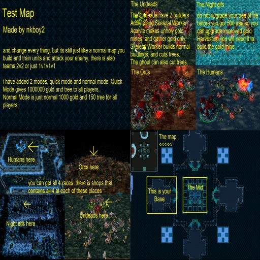 Download map Test Map by Nkboy2 - Other | 37 different