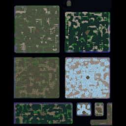 Troll And Elves v7.9 - Warcraft 3: Mini map
