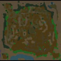 Valycia World Tomorrow 0.1a Beta - Warcraft 3: Mini map