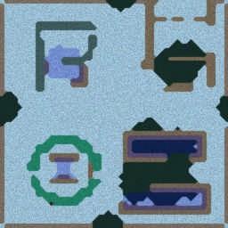 梦幻之夜 ver1.7e Fix2 - Warcraft 3: Mini map