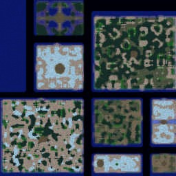 트롤vs엘프 2.4E Fix - Warcraft 3: Mini map