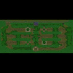War of Races v0.66a - Warcraft 3: Mini map